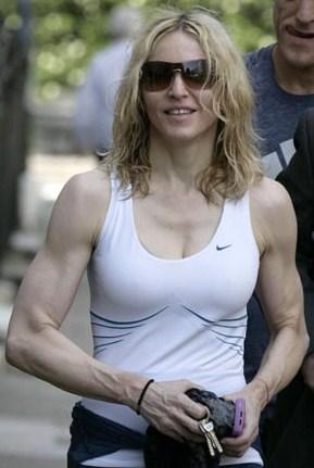 marit bjørgen muscles