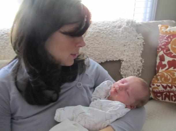 Newborn baby love