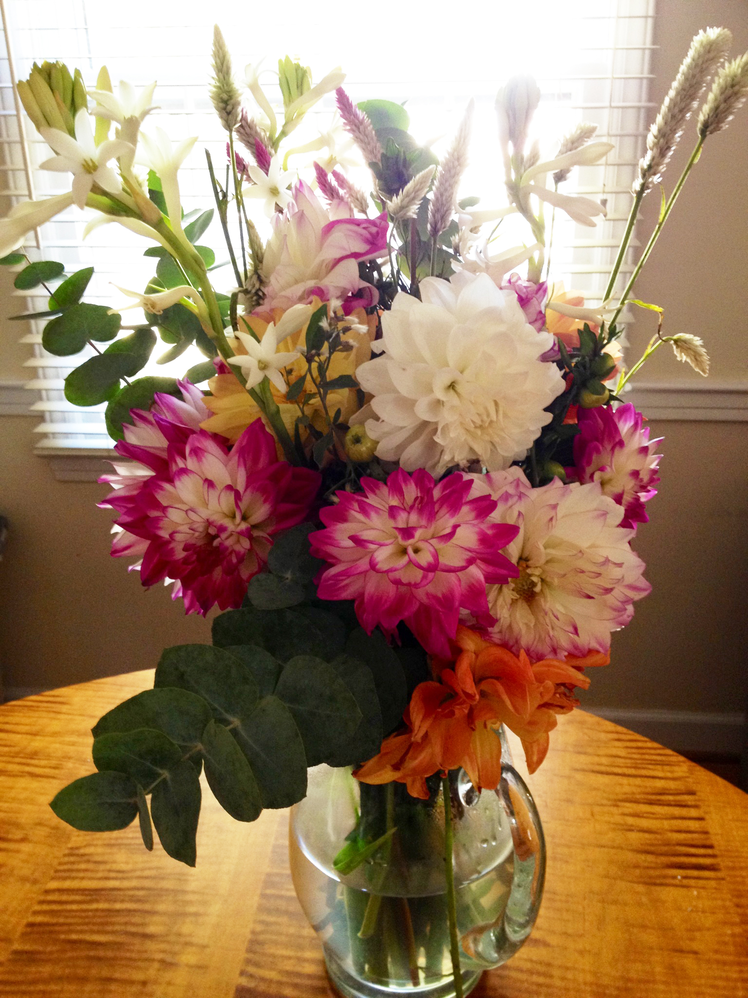 Hail to the working dad the bump life flowers for me on your birthday izmirmasajfo