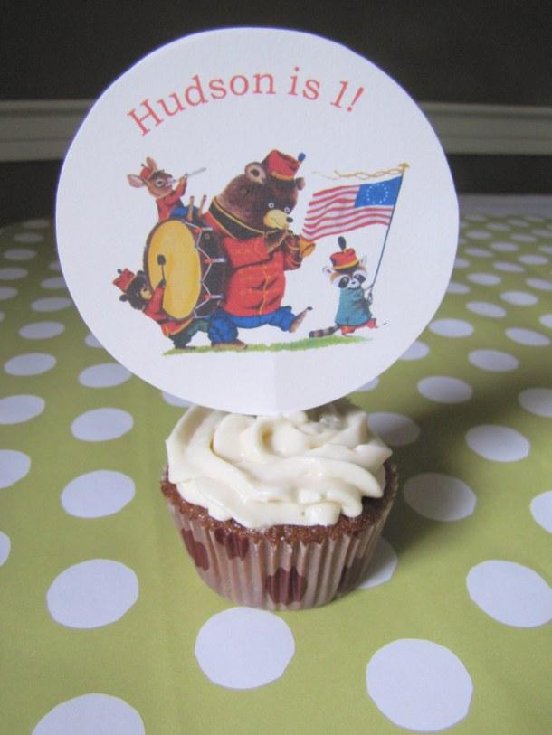 Birthday Cupcake Topper